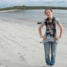 Evie at the Bay of Tafts