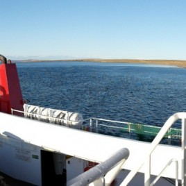 Sailing Westray Down