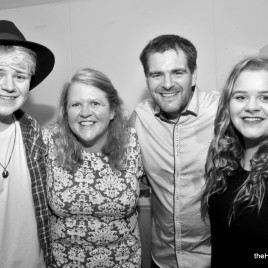 The Harcus Family Band at Westray Connections 2015