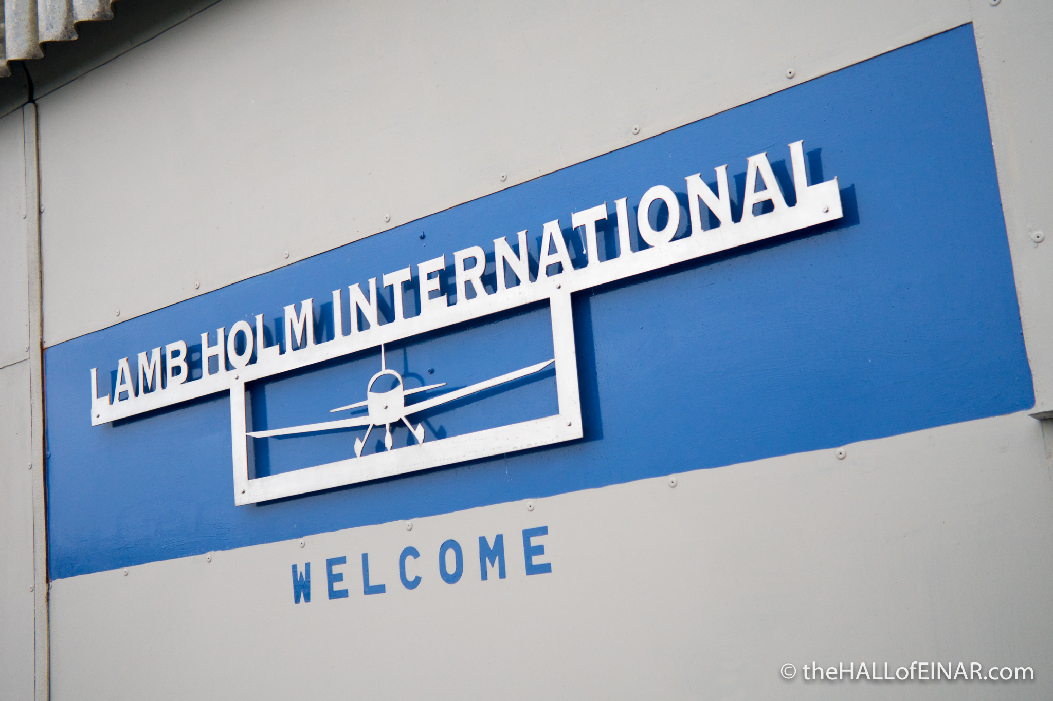 Lamb Holm International Airport
