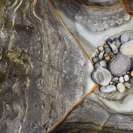Cave, Pebble, Rock