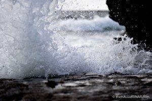 Love's Crashing Waves - photograph (c) David Bailey 2016
