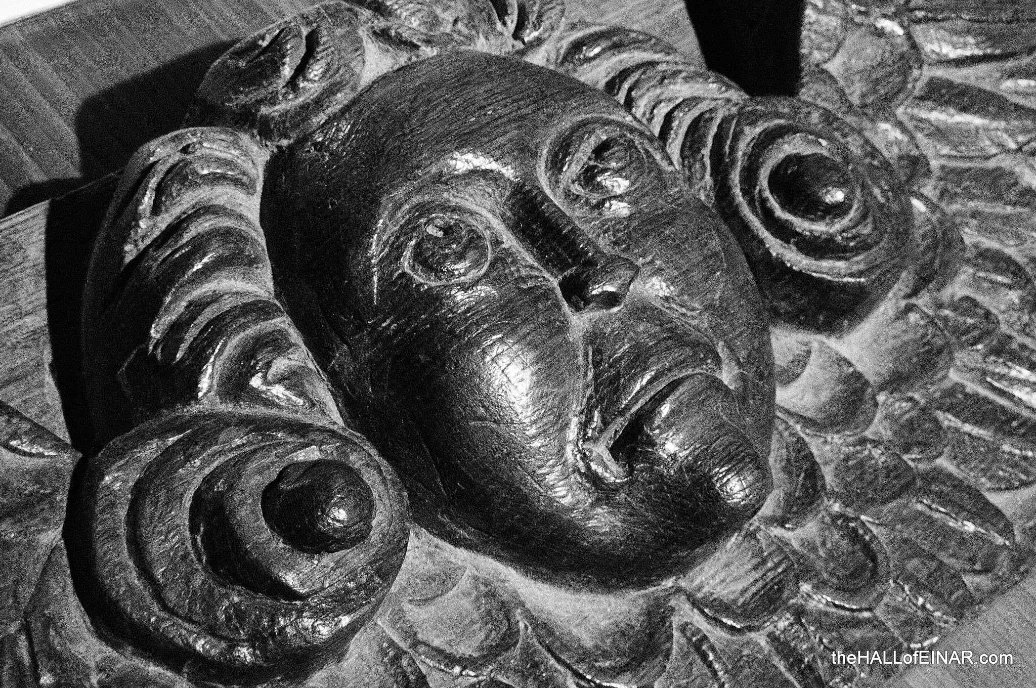 Cathedral Carving - photograph (c) 2016 David Bailey (not the)