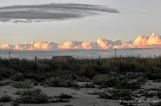 Golden clouds on the horizon - photograph (c) 2016 David Bailey (not the) - The Hall of Einar