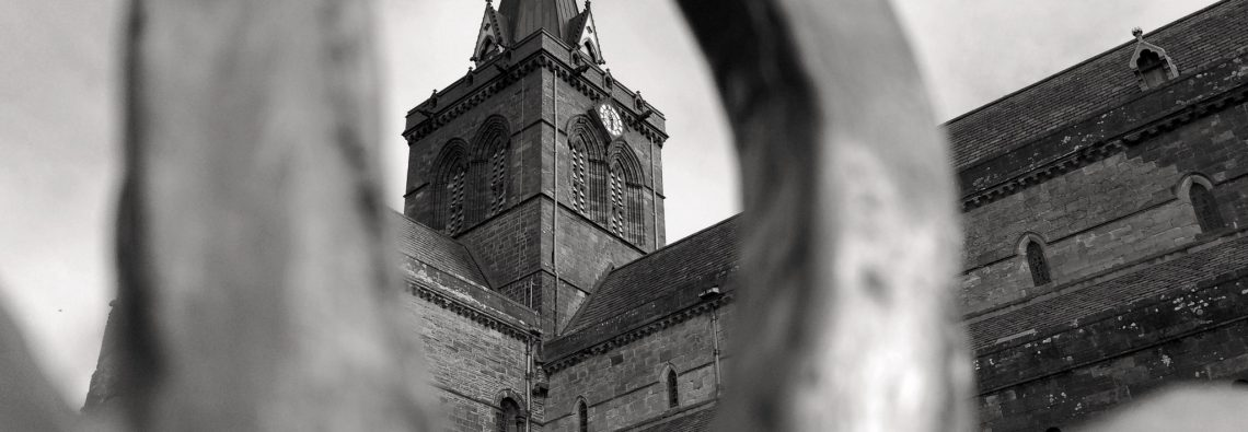 St Magnus Cathedral - The Hall of Einar - photograph (c) David Bailey (not the)