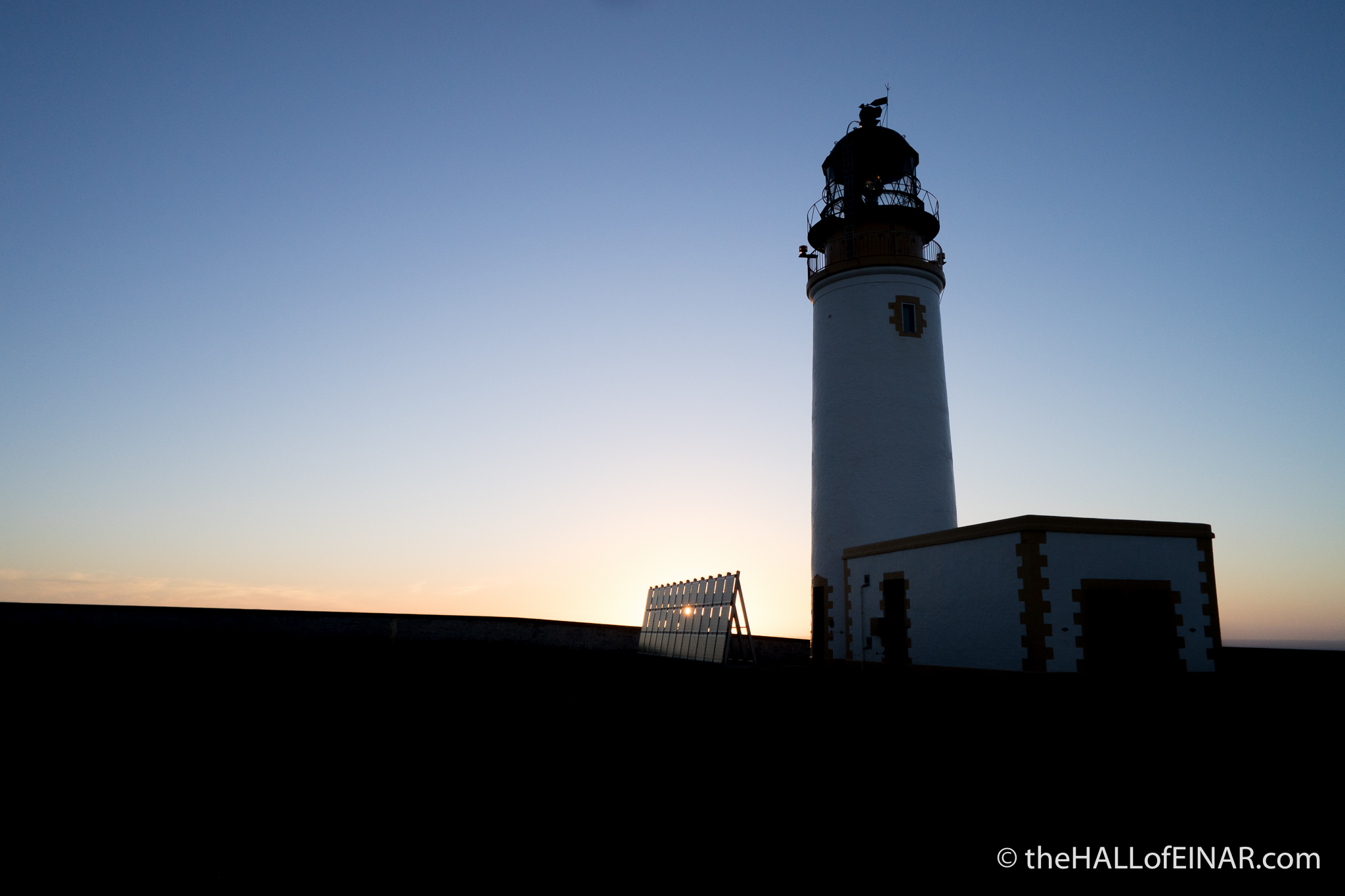 Sunset at Noup Head - photograph (c) David Bailey (not the)