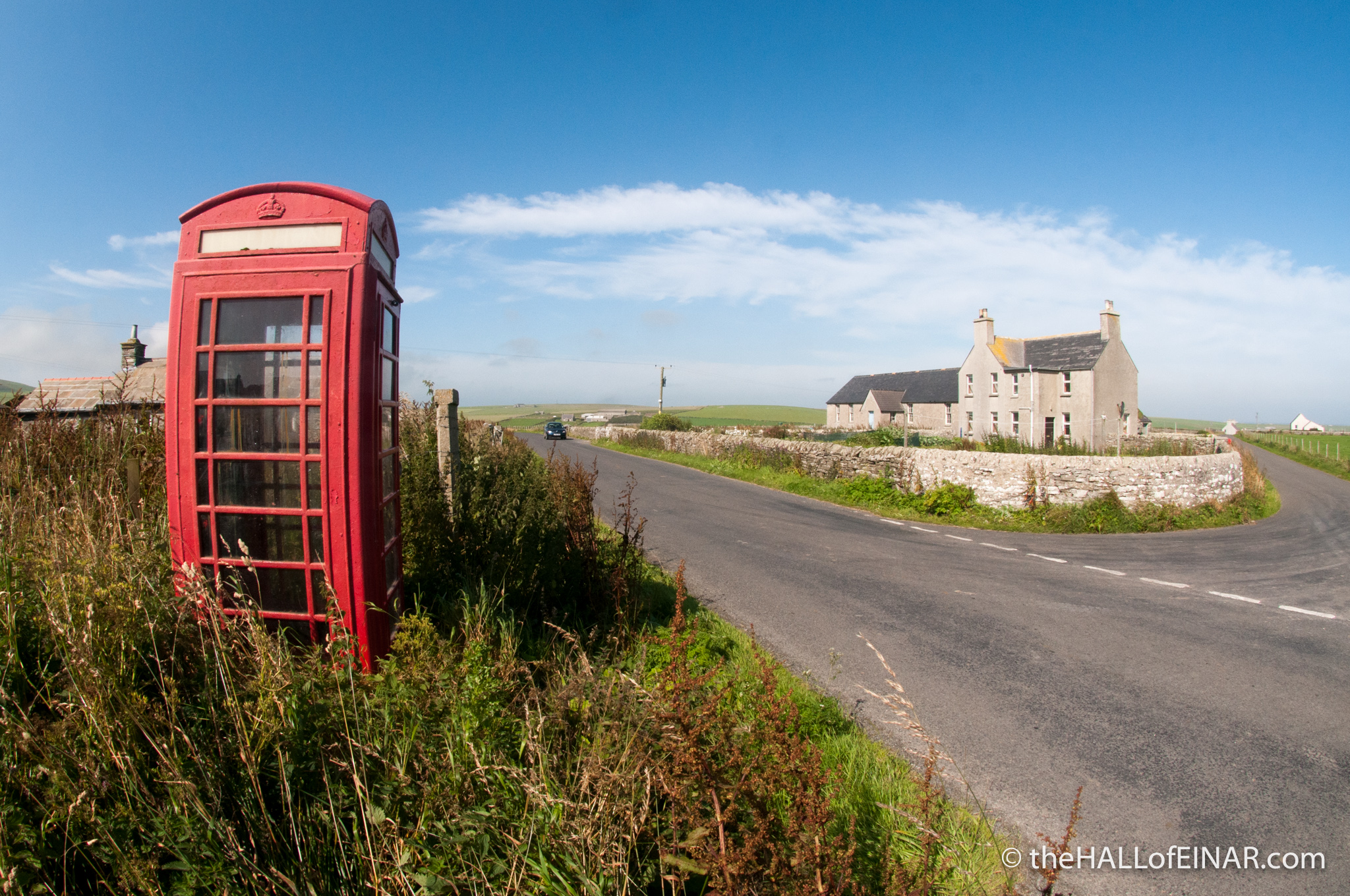 Red telephone box - photograph (c) David Bailey (not the)