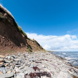 Boulder clay - The Hall of Einar - photograph (c) David Bailey (not the)