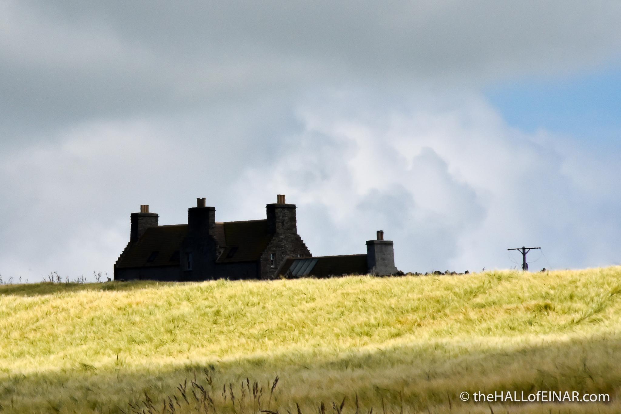 Sunshine and shadows - The Hall of Einar - photograph (c) David Bailey (not the)