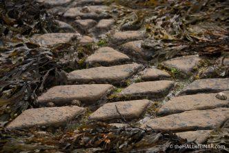 Diamonds on the rocks - The Hall of Einar - photograph (c) David Bailey (not the)