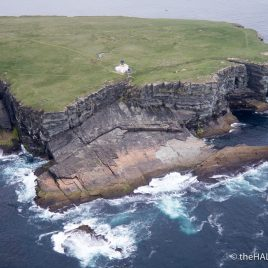 Brough of Birsay - The Hall of Einar - photograph (c) David Bailey (not the)
