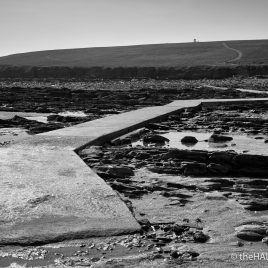 Causeway to the Brough of Birsay - The Hall of Einar - photograph (c) David Bailey (not the)