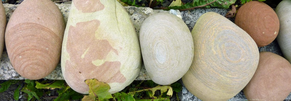 Boulders on my border - The Hall of Einar - photograph (c) David Bailey (not the)