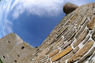 Noltland Castle - The Hall of Einar - photograph (c) David Bailey (not the)