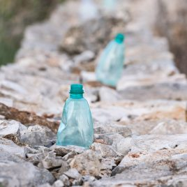 Wall bottles - The Hall of Einar - photograph (c) David Bailey (not the)