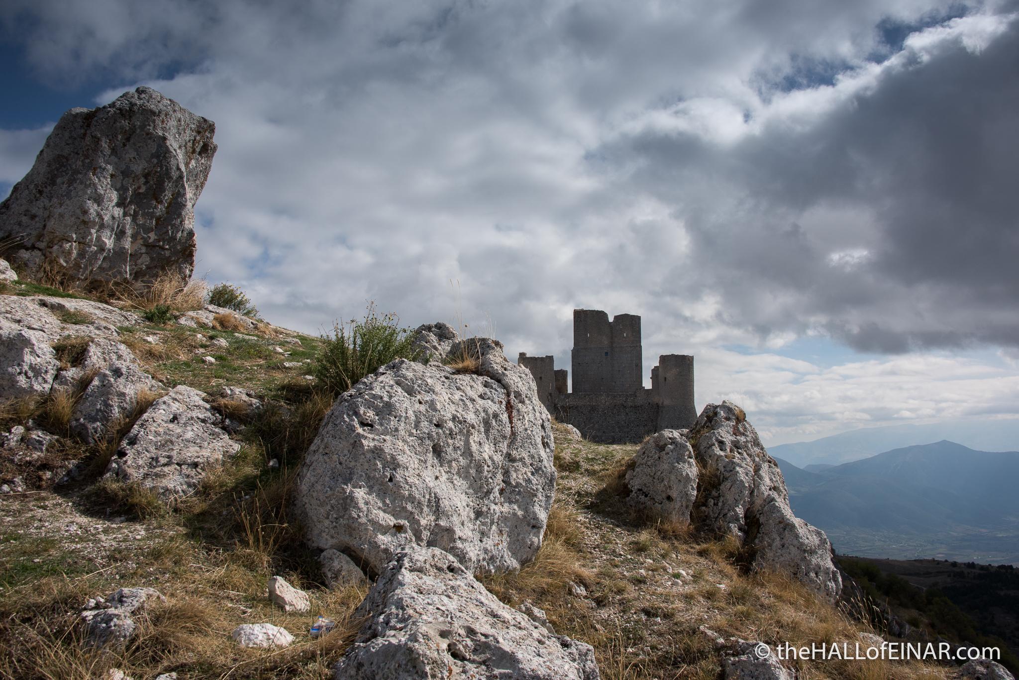 Rocca Calascio - The Hall of Einar - photograph (c) David Bailey (not the)