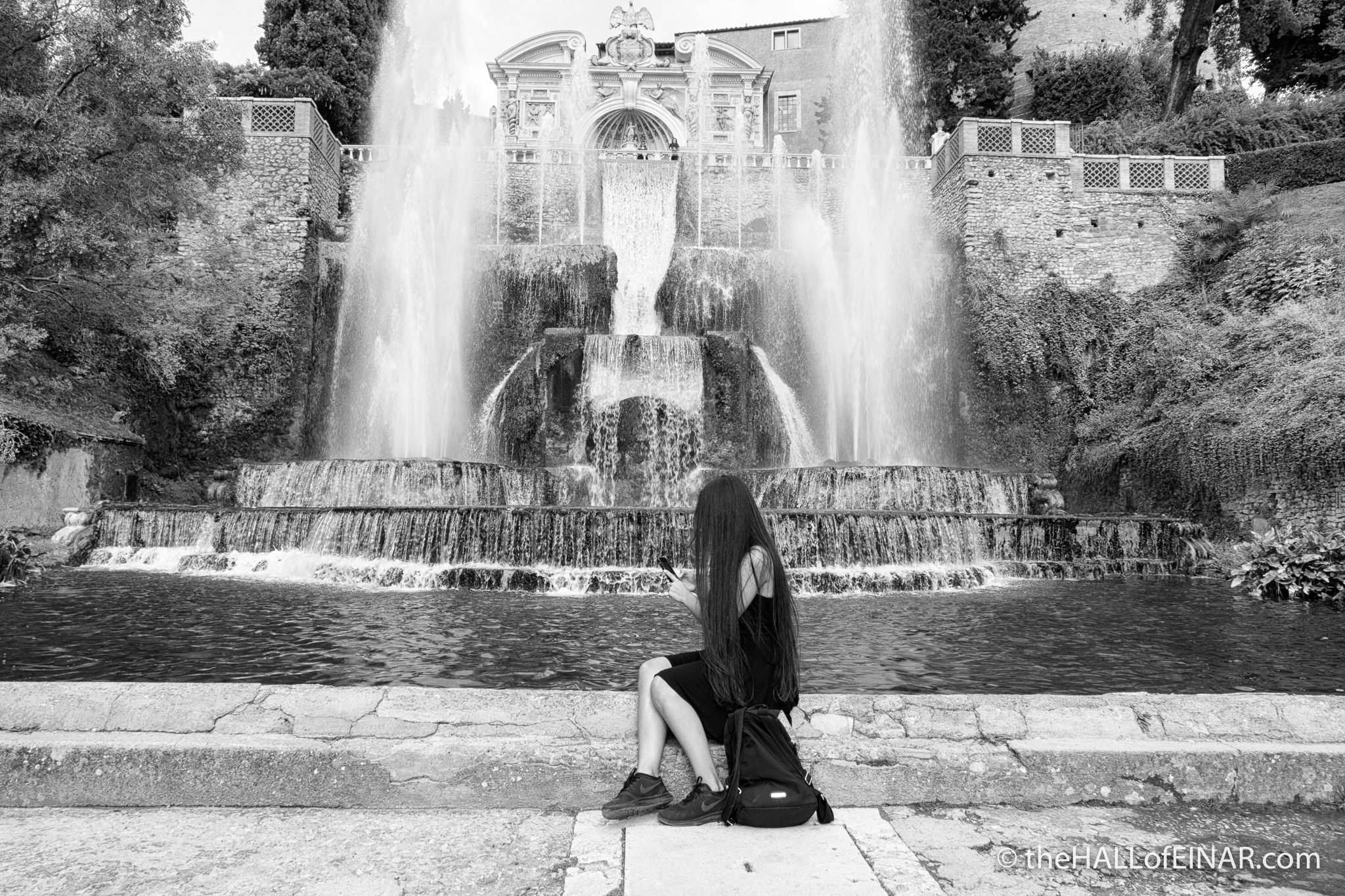 Villa d'Este - The Hall of Einar - photograph (c) David Bailey (not the)
