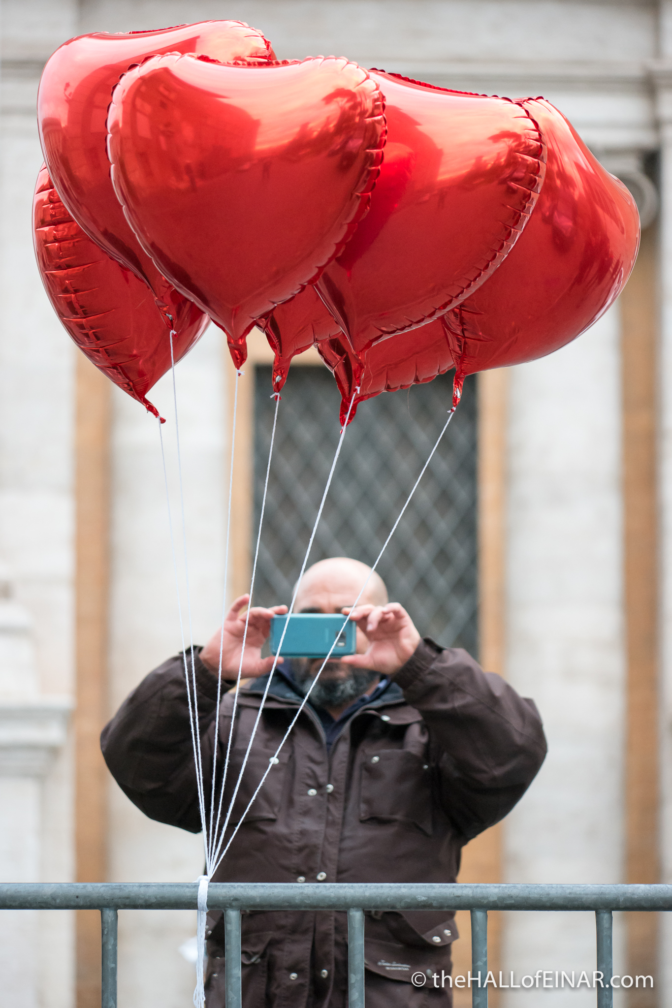 Love Balloons - The Hall of Einar - photograph (c) David Bailey (not the)