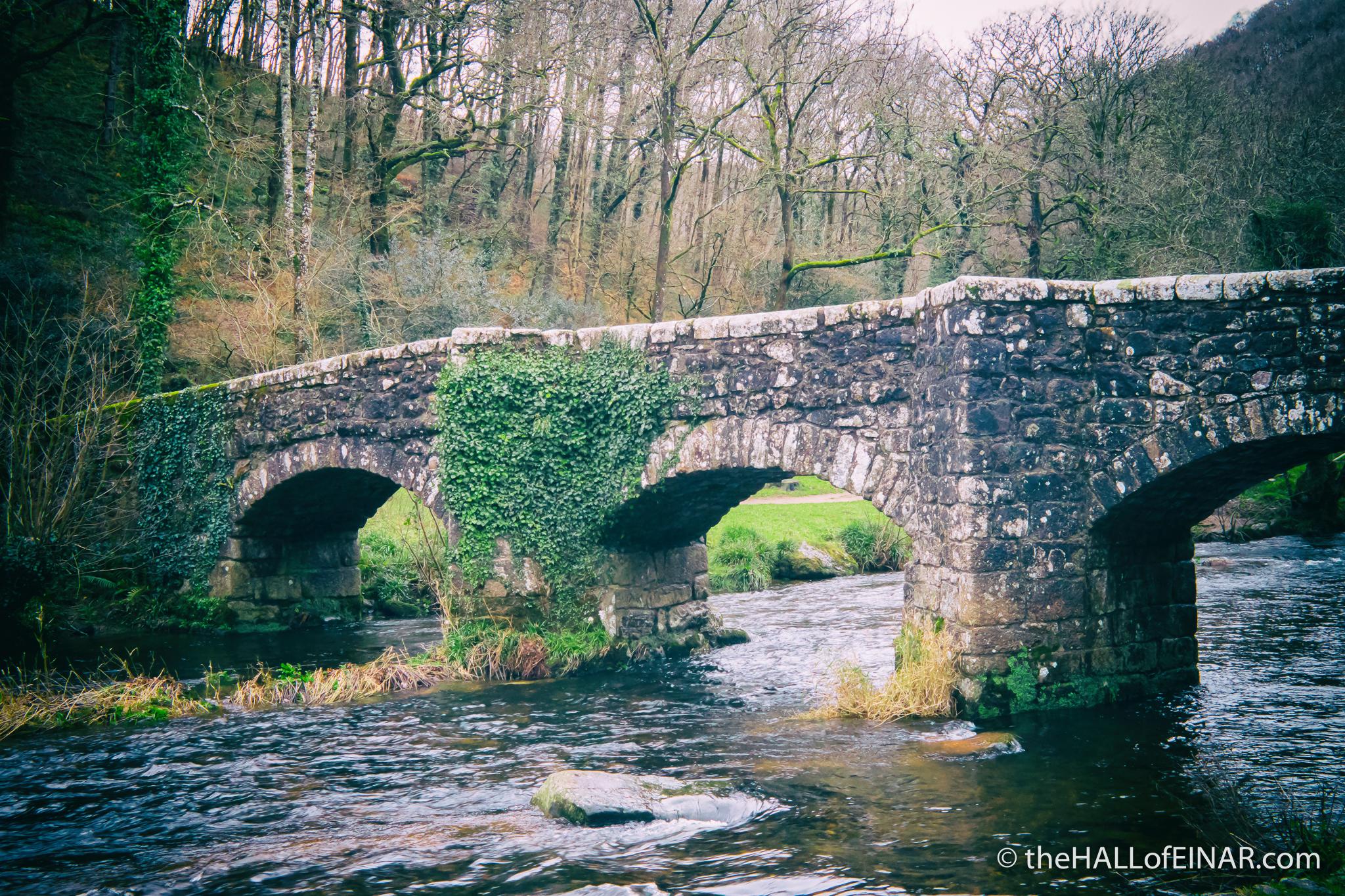 Fingle Bridge - The Hall of Einar - photograph (c) David Bailey (not the)