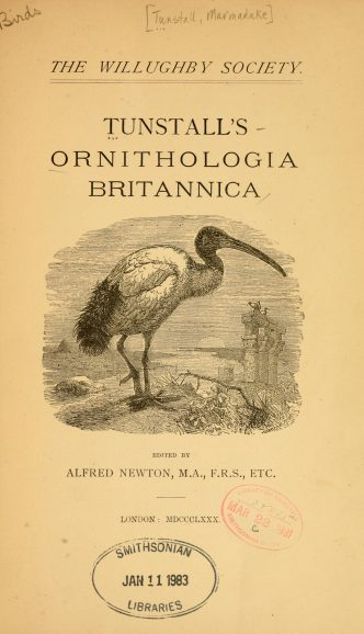 Ornithologia Britannica - The Hall of Einar