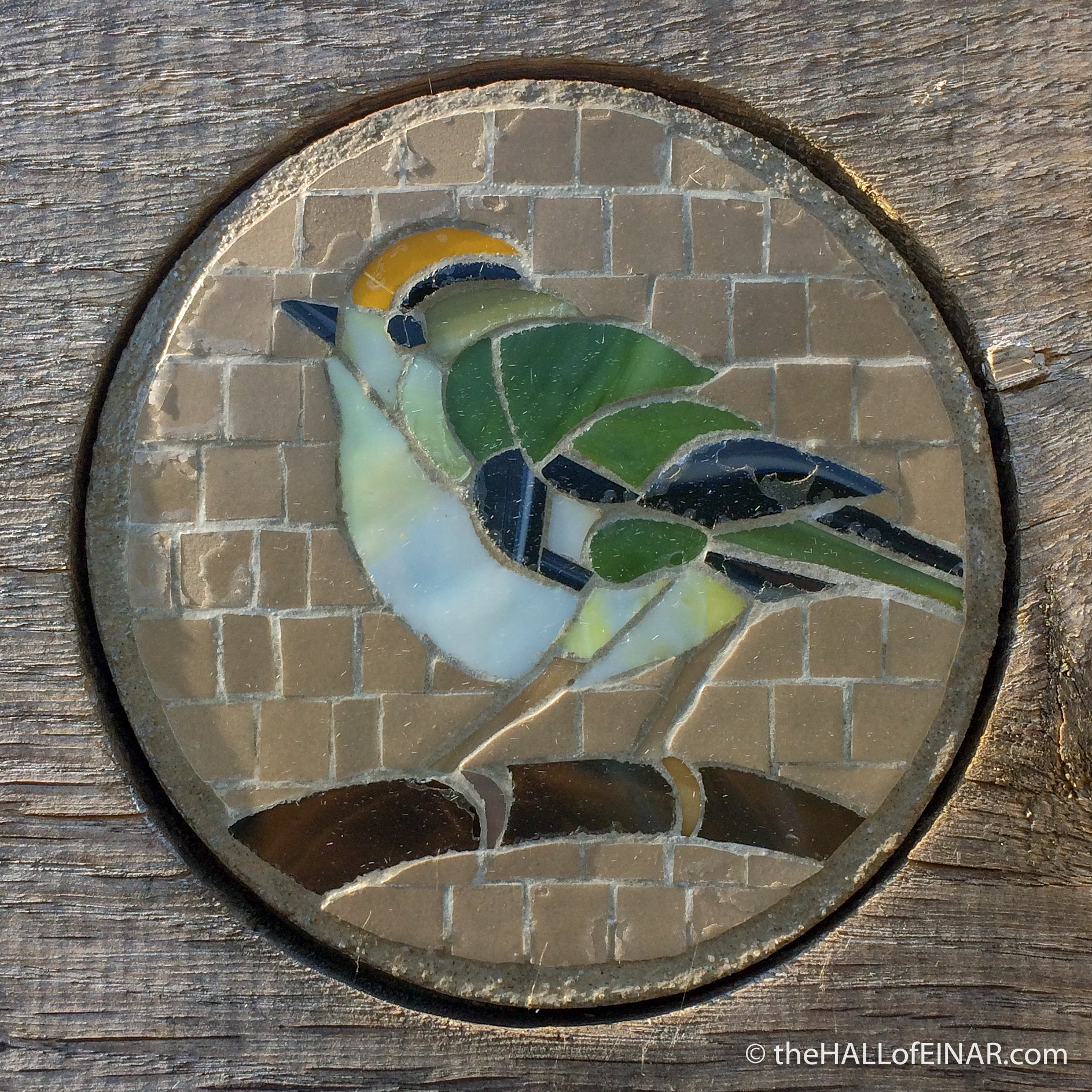 Goldcrest Sign - Dove Stone - The Hall of Einar - photograph (c) David Bailey (not the)