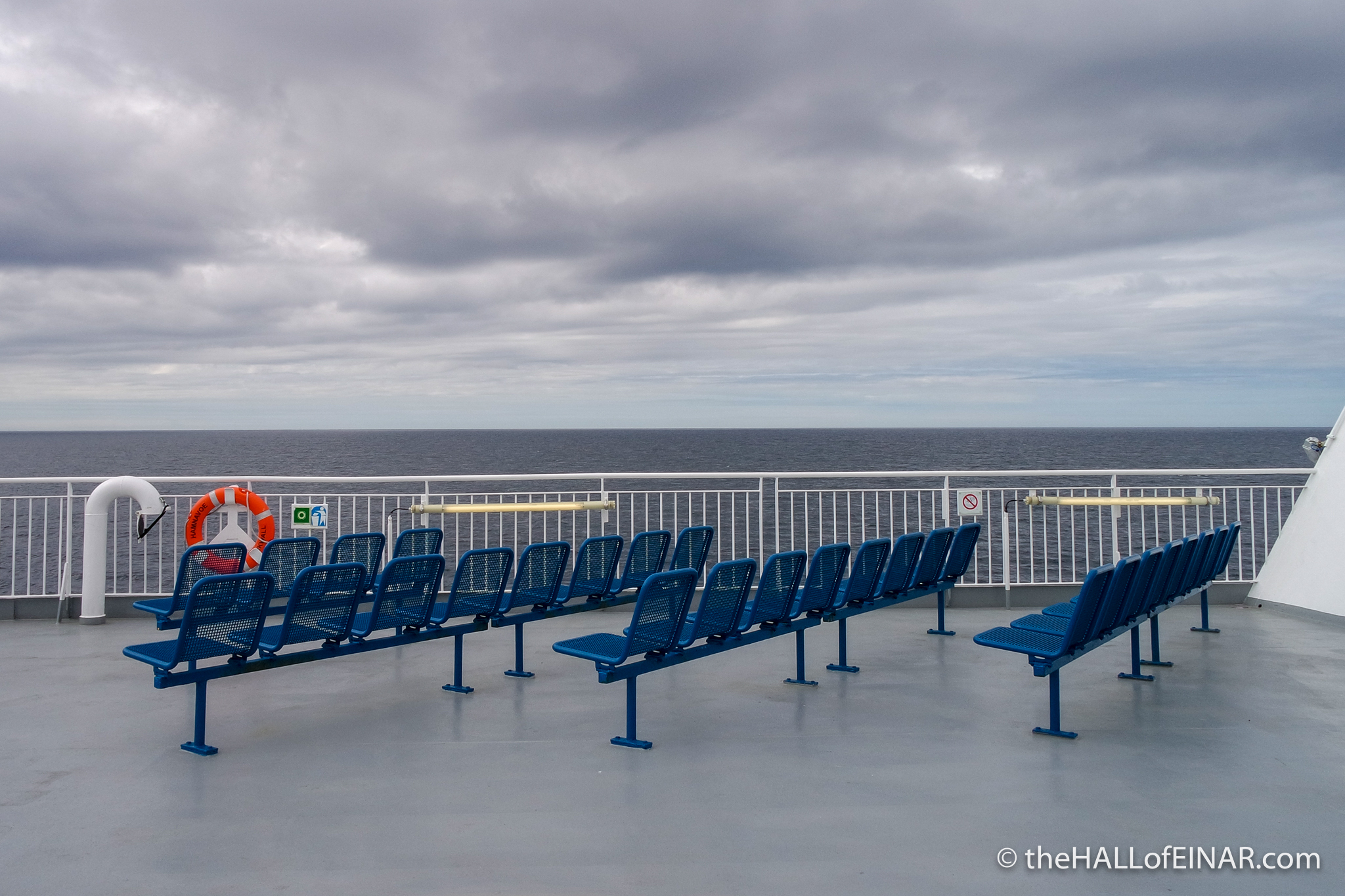 Northlink Ferry - The Hall of Einar - photograph (c) David Bailey (not the)