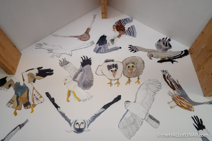 Hen Harrier - The Hall of Einar - Artwork by Firth Primary School