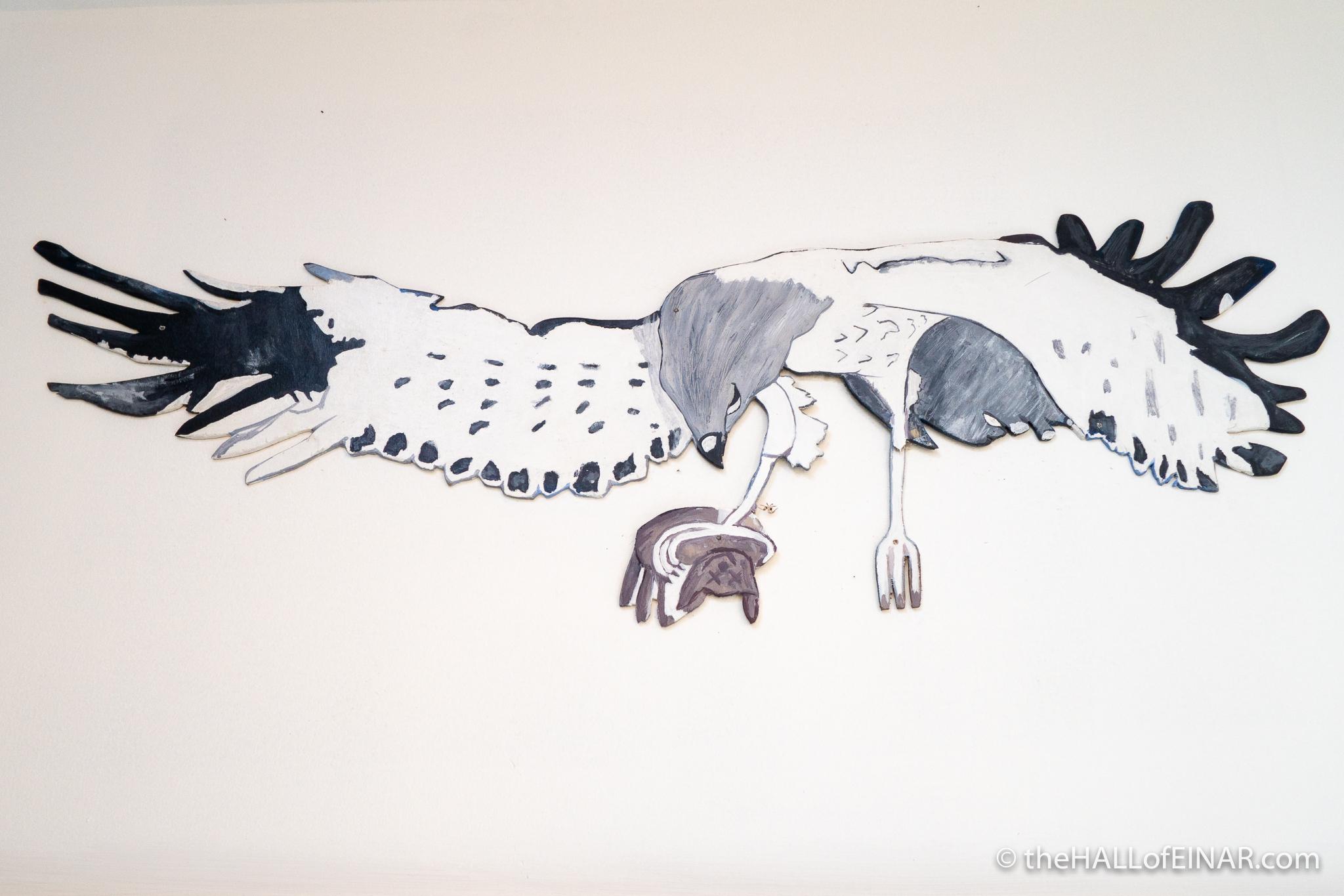 Hen Harrier - The Hall of Einar - Artwork by Firth Primary School