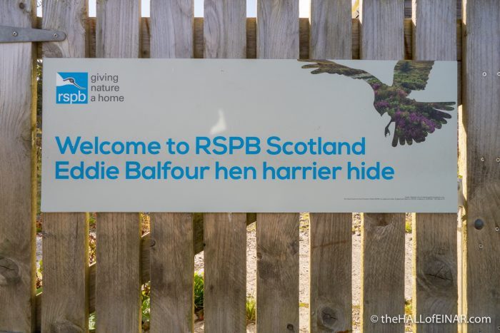 RSPB Eddie Balfour - The Hall of Einar - photograph (c) David Bailey (not the)