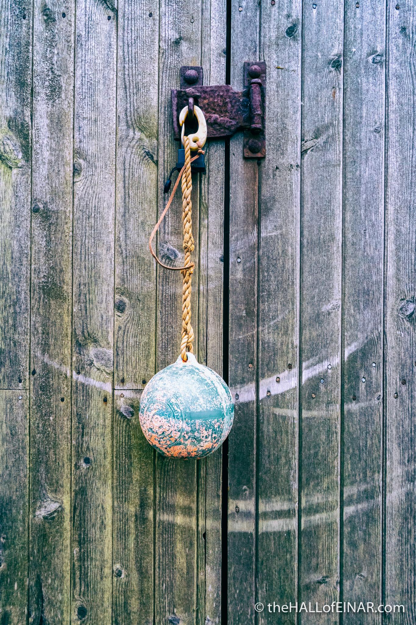 Swinging buoy - The Hall of Einar - photograph (c) David Bailey