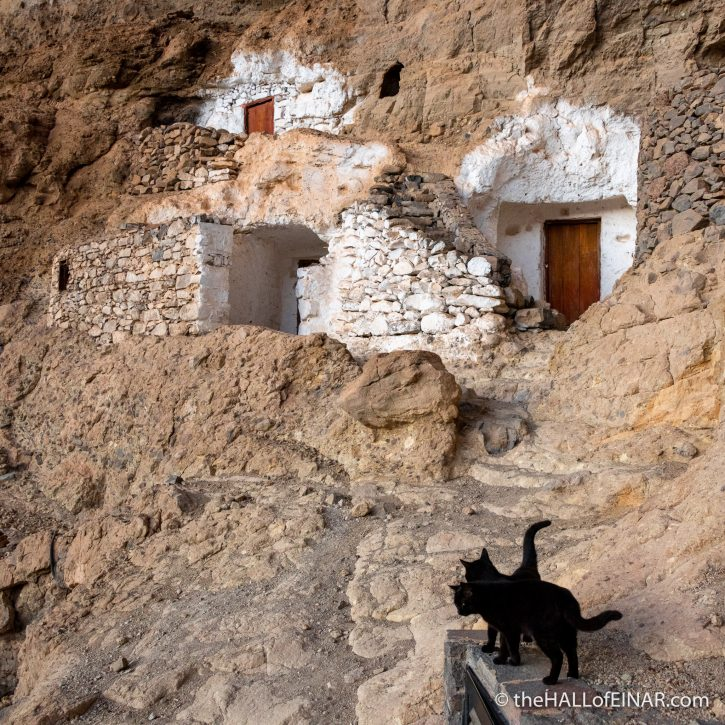 Cave House - Gran Canaria - The Hall of Einar - photograph (c) David Bailey (not the)