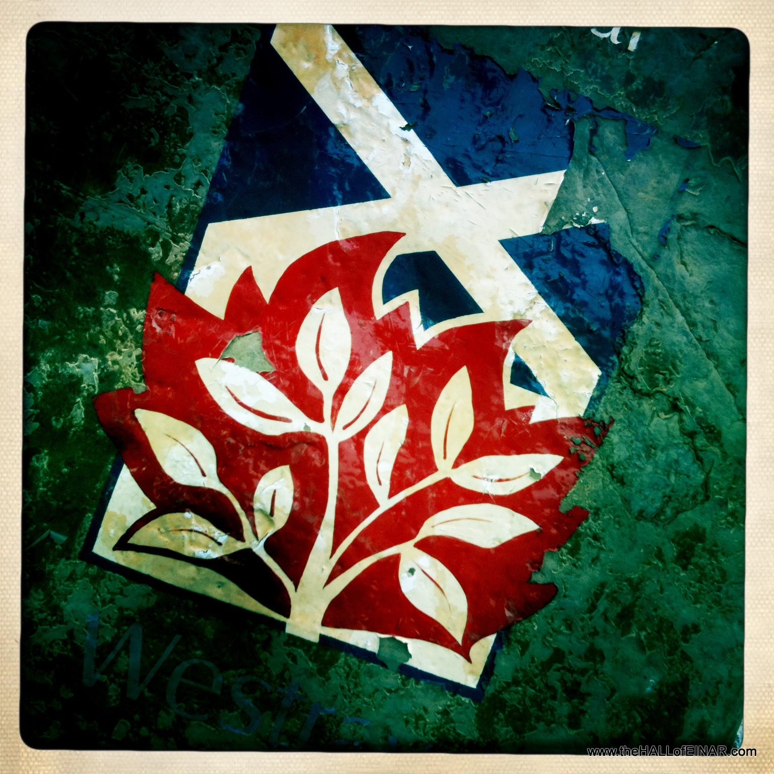 The Saltire and the burning bush