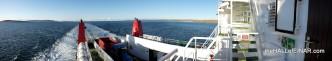 Sailing Westray Down