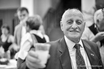 Coriolano 'Gino' Caprara - the Miracle of Camp 34 - photograph (c) 2016 David Bailey (not the)