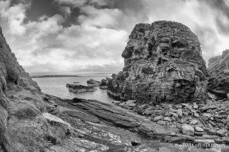 Castle o' Burrian - photograph (c) 2016 David Bailey (not the)