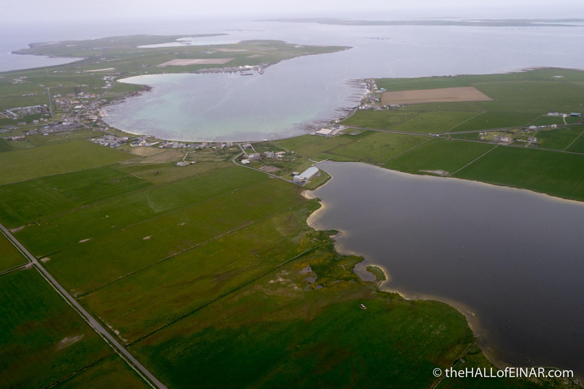Pierowall Bay - photograph (c) 2016 David Bailey (not the)