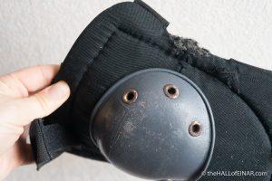 Mice nibble knee protectors - photograph (c) 2016 David Bailey (not the)