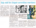 """The Orcadian - """"Italy visit for chapel committee members"""""""