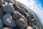 Cobbles on the beach - photograph (c) 2016 David Bailey (not the) - The Hall of Einar