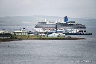 The P&O cruise ship Arcadia - photograph (c) David Bailey (not the)
