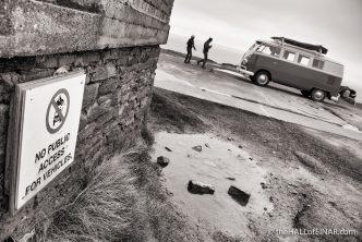 No vehicles - photograph (c) David Bailey (not the)