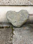 Stone heart - photograph (c) David Bailey (not the)