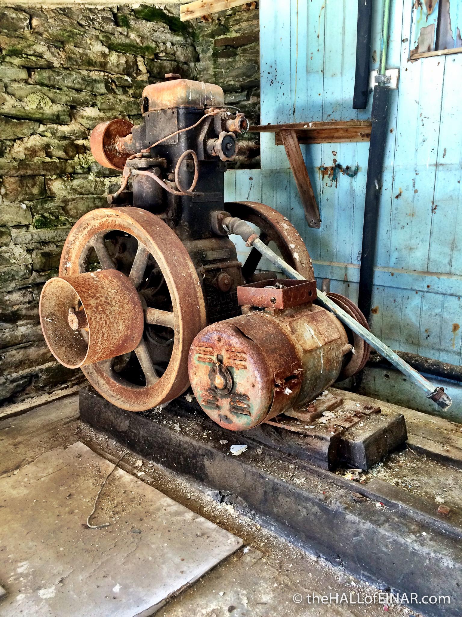 Diesel Generator - photograph (c) David Bailey (not the)
