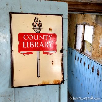 County Library - The Hall of Einar - photograph (c) 2016 David Bailey (not the)