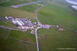 Holland Farm on Papa Westray - photograph (c) David Bailey (not the)
