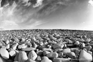 Boulder beach- The Hall of Einar - photograph (c) David Bailey (not the)