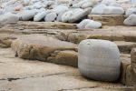 Cobble beach - The Hall of Einar - photograph (c) David Bailey (not the)
