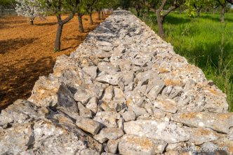 Stone walls - The Hall of Einar - photograph (c) David Bailey (not the)