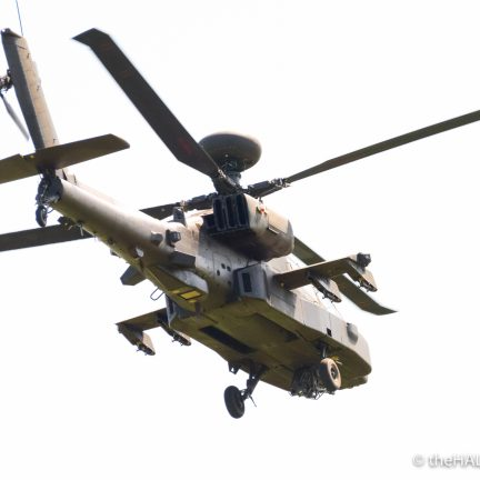 Apache Helicopter - The Hall of Einar - photograph (c) David Bailey (not the)
