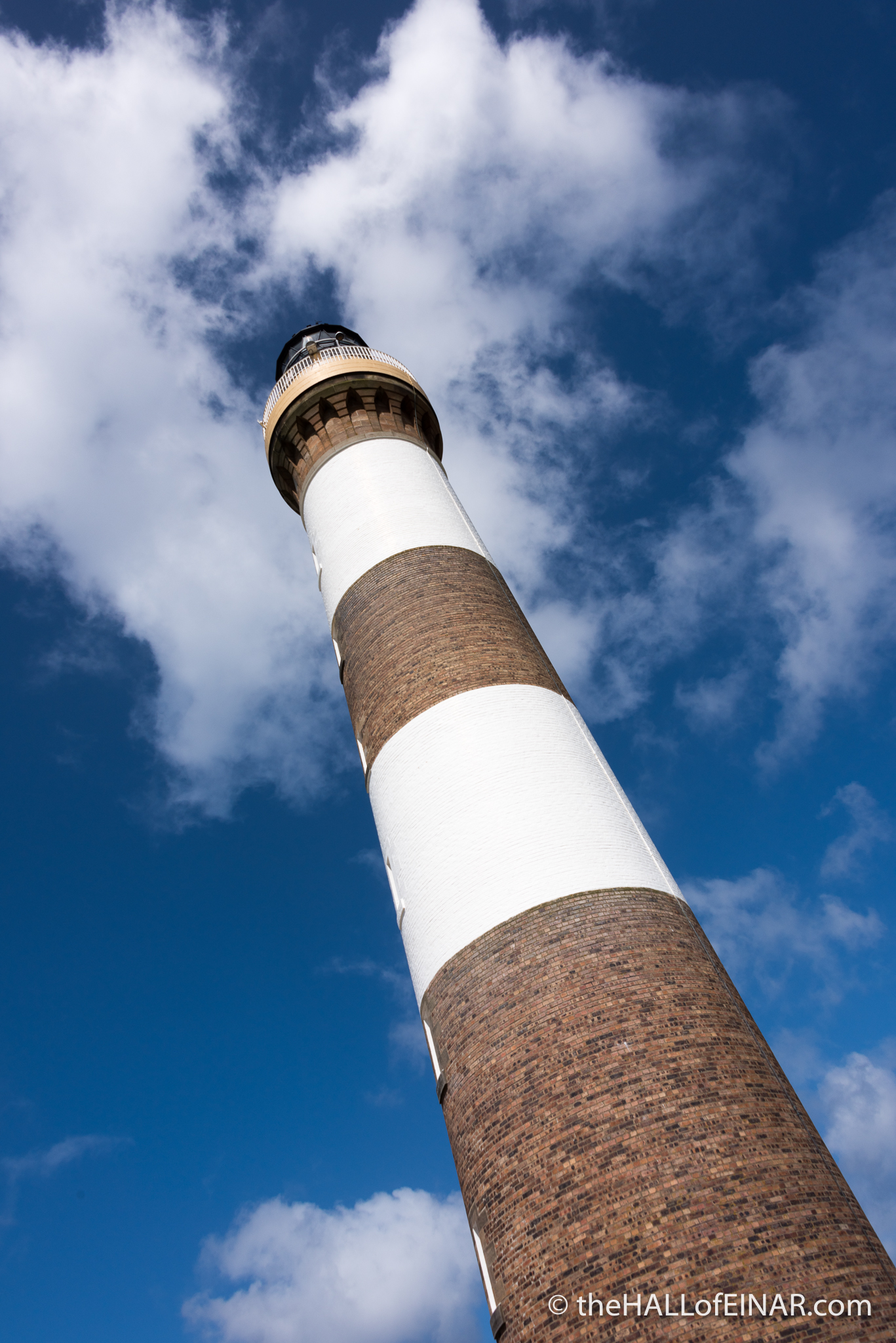 North Ronaldsay Lighthouse - The Hall of Einar - photography (c) David Bailey (not the)